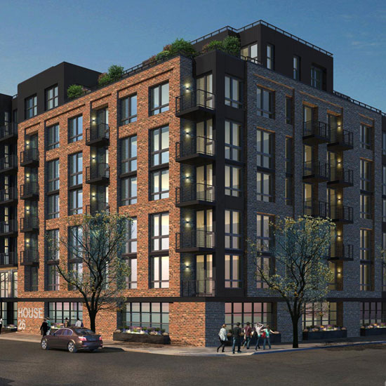 26 west new luxury apartment building in greenpoint brooklyn